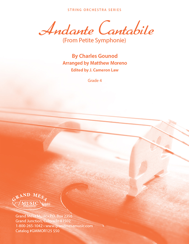 Andante Cantabile (from Petite Symphonie)
