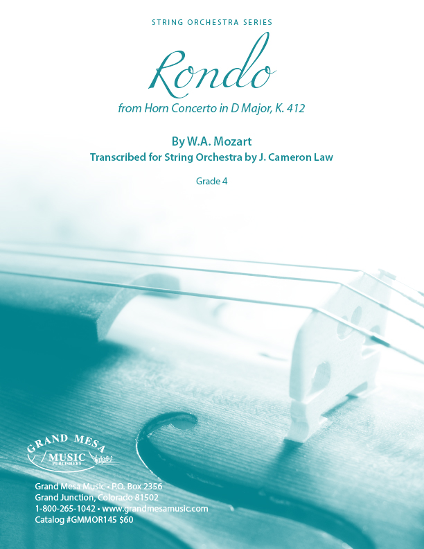 Rondo from Horn Concerto in D Major, K. 412